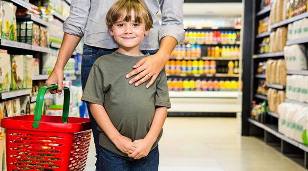 спокойный шопинг с ребенком