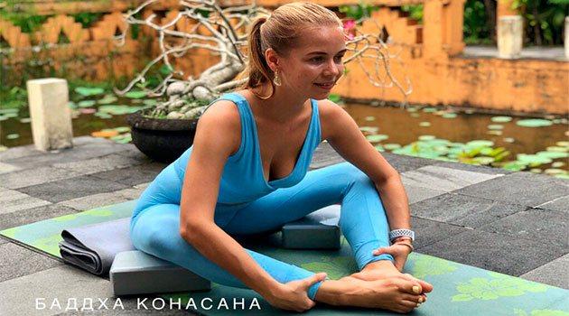 йога для беременных: баддха конасана